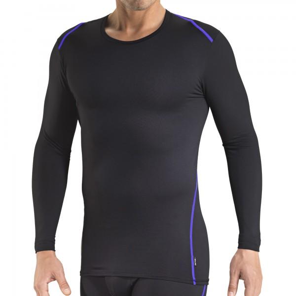 Shirt manches longues, encolure ronde, Clima Control facteur 1