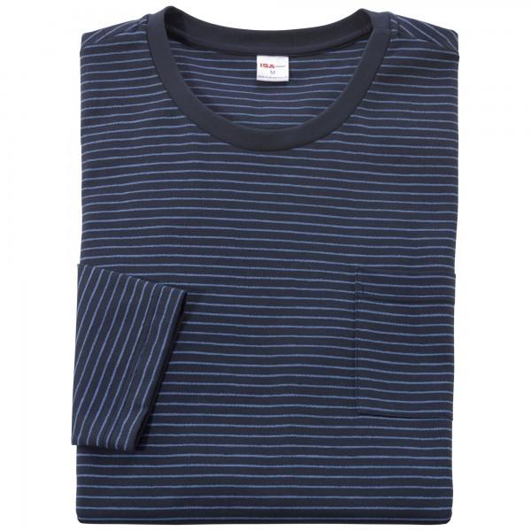 Pyjama long, round-neck