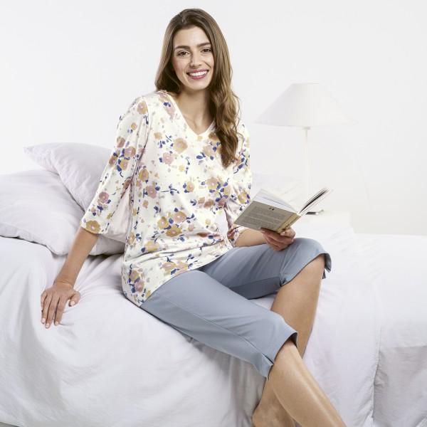 Pyjama 3, 4, v-neck