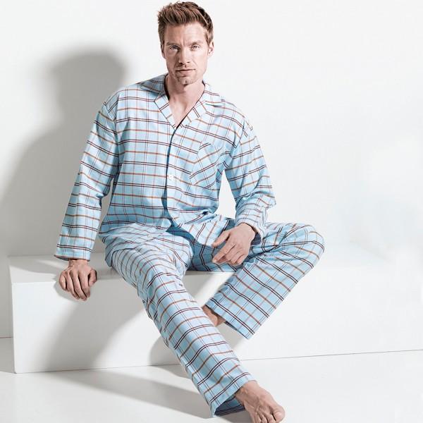 Pyjama long, boutonné