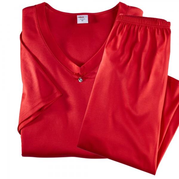 Pyjama short, pants 3, 4, v-neck