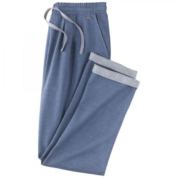 Pantalons 7, 8 avec poches et cordonnet à la taille