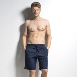 Short avec poches et cordonnet à la taille