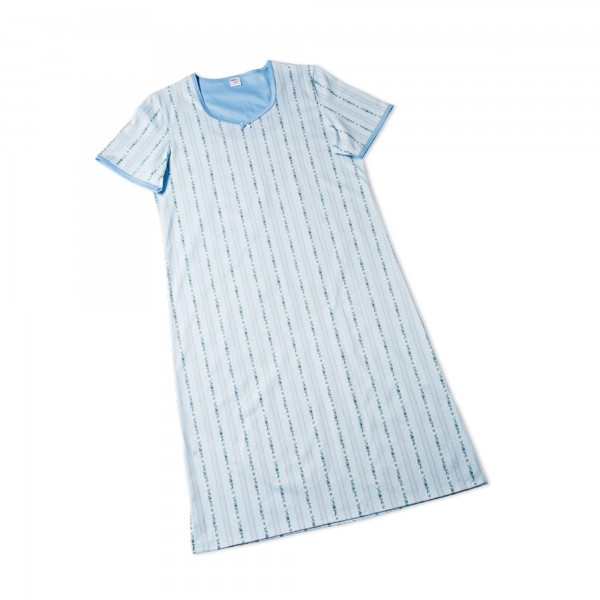 Nachthemd kurzarm, V-Ausschnitt