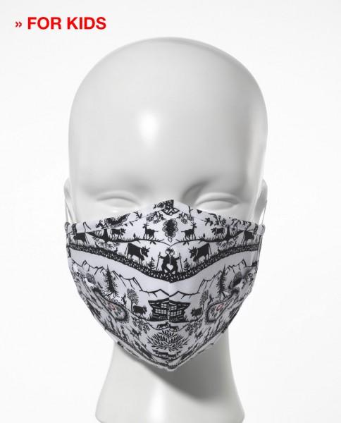 Maschera d'igiene per bambini confezione da 5 ''Scherenschnitt''