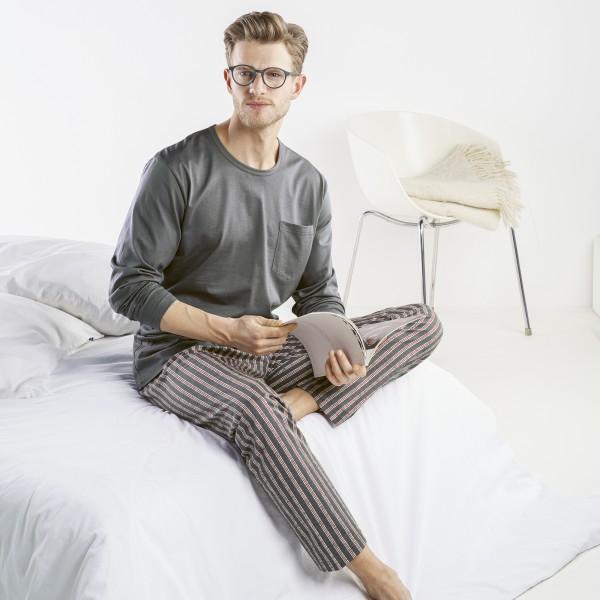 Pyjama lang, Rundhals