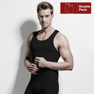 Athletshirt double paquet