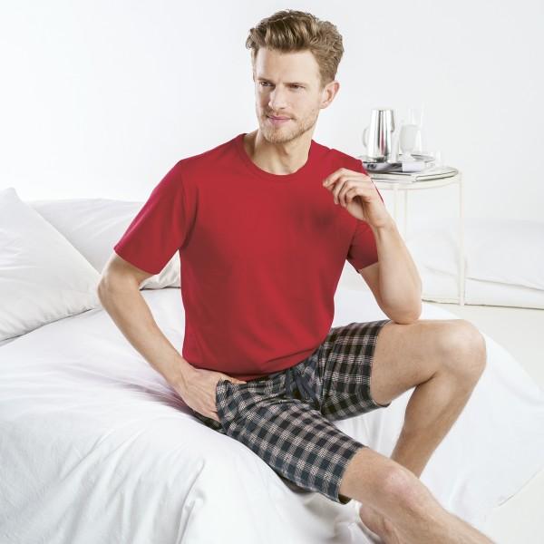 Pyjama kurz, Rundhals