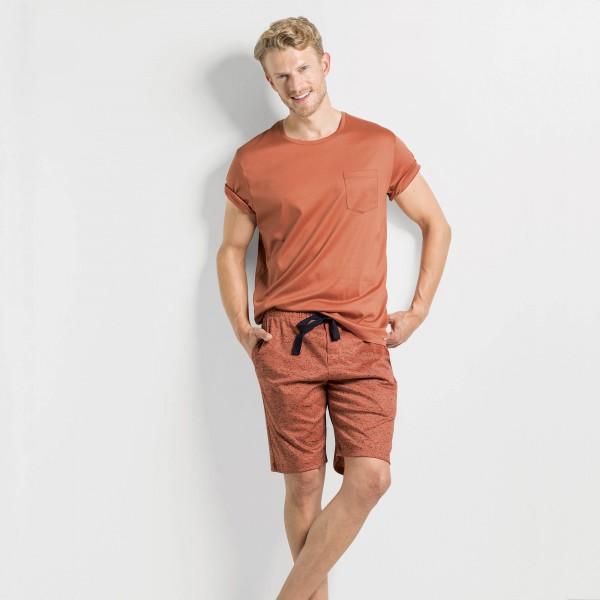 Pantaloni con tasca e cordino
