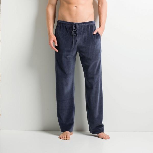 Pantaloni con taschini laterali e cordino