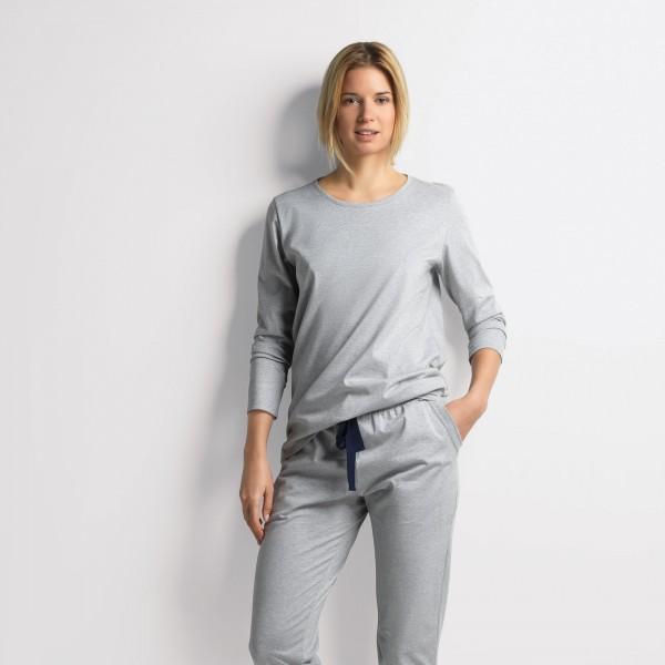 Shirt langarm, Rundhals