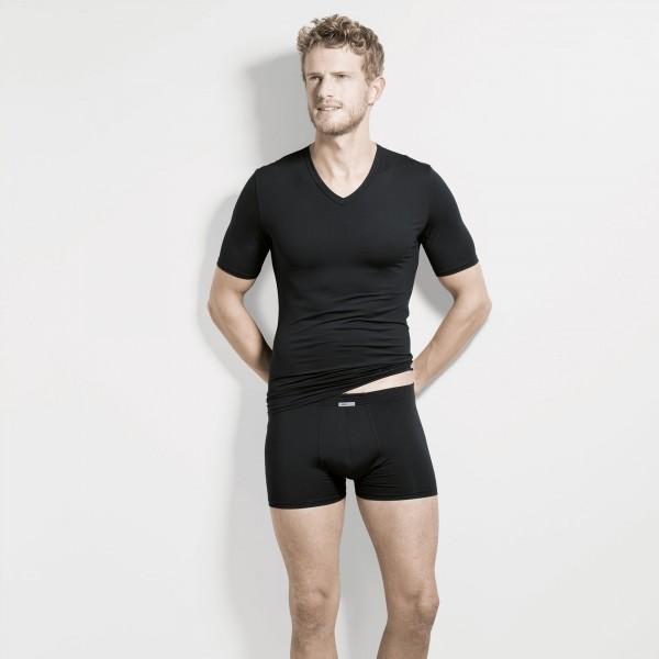 Shirt short sleeve, v-neck