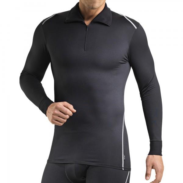 Turtleneck shirt with zipper, Clima Control factor 2
