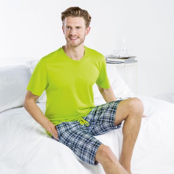 Pyjama court, encolure ronde