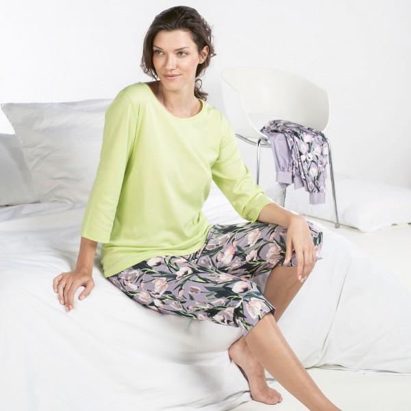 Pyjama 3, 4, round-neck