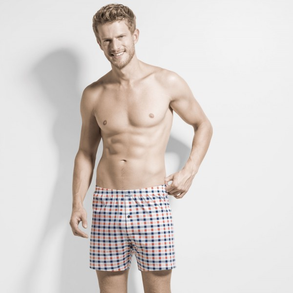 Boxershort with front fly