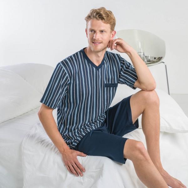 Pyjama short, v-neck