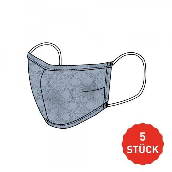 Hygiene mask pack of 5