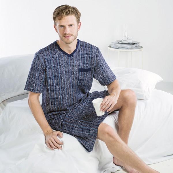 Chemise de nuit manches courtes, encolure en V