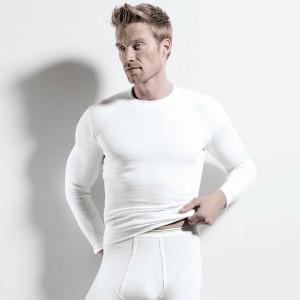 Shirt long sleeve, round-neck