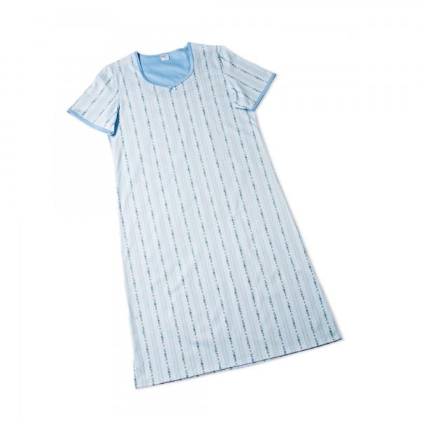 Camicia da notte manica corta, collo a V